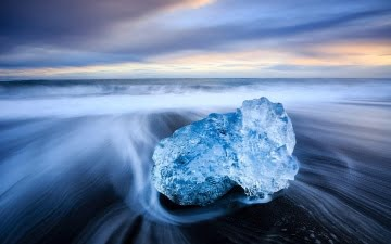 Mark Bauer Photography | ICE017 Sunset, Black-Beach, Jokulsarlon 4