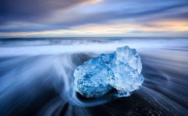 Mark Bauer Photography | ICE017 Sunset, Black-Beach, Jokulsarlon 4
