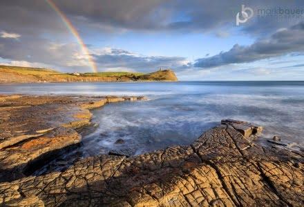 Mark Bauer Photography | KE043 Rainbow, Kimmeridge Bay