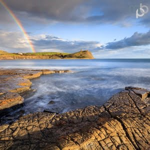 Mark Bauer Photography | KE043 Rainbow, Kimmeridge Bay