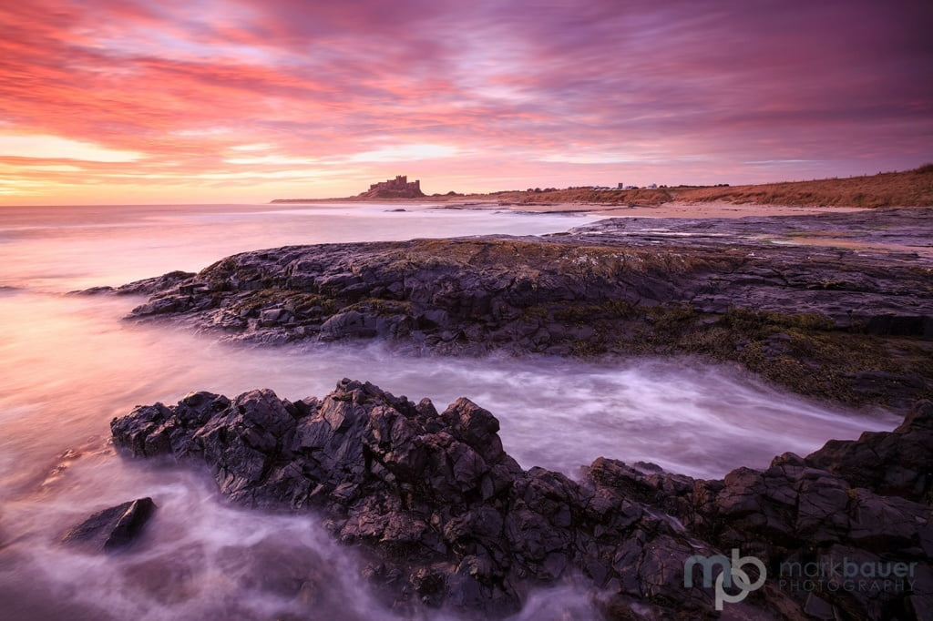 Mark Bauer Photography | NBD016 Dawn, Bamburgh