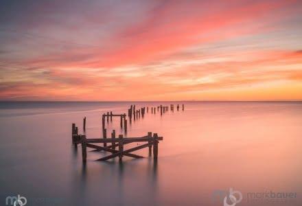 Mark Bauer Photography | PK202 Sunrise, Swanage Old Pier