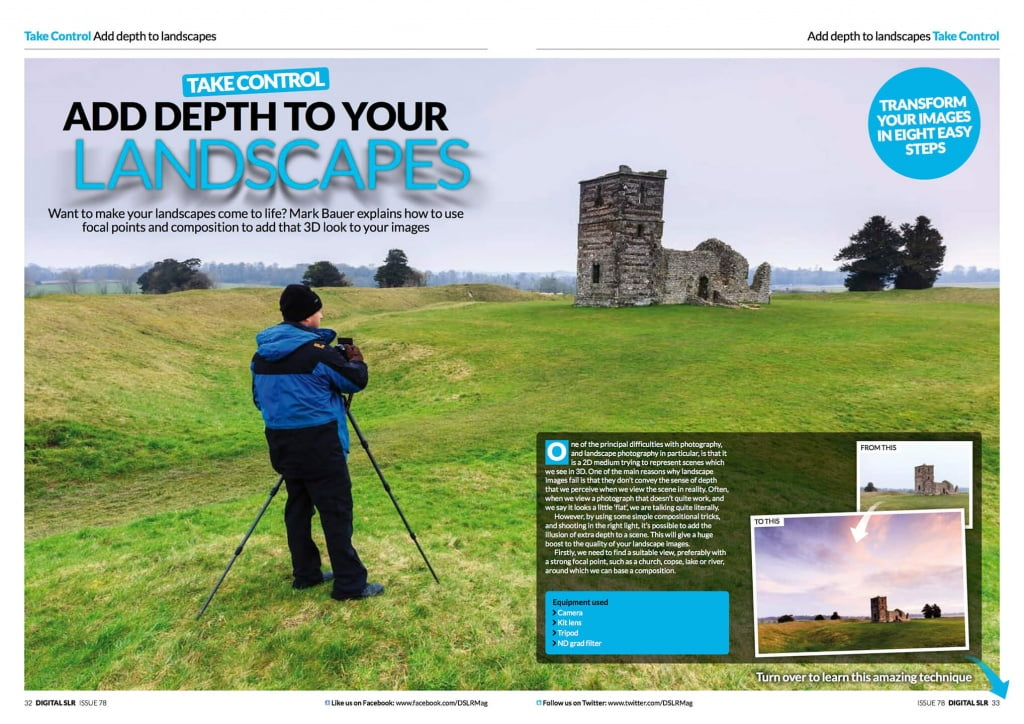 Digital SLR magazine