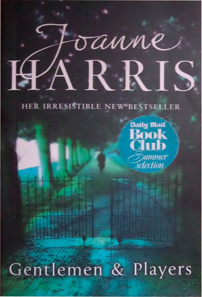 Joanne Harris 'Gentlemen & Players' book cover