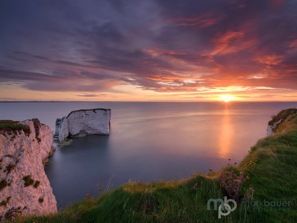 Mark Bauer Photography | PK206 September Sunrise, Old Harry Rocks