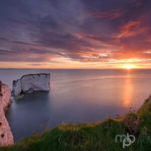 Mark Bauer Photography | PK206 September Sunrise, Old Harry Rocks