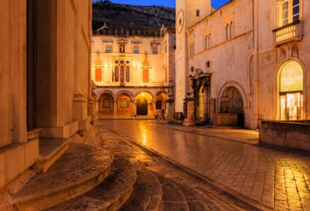 Mark Bauer Photography | Blue Hour, Dubrovnik Old Town