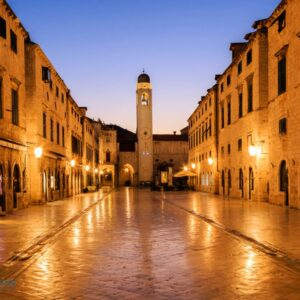 Mark Bauer Photography | First Light, Dubrovnik Old Town
