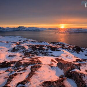 Mark Bauer Photography | Sunset, Disko Bay, Greenland
