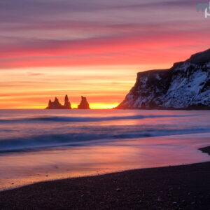 Mark Bauer Photography | Sunset, Vik, Iceland