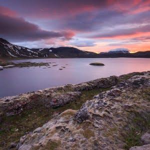Mark Bauer Photography | Sunset over Frostastadavatn, Iceland