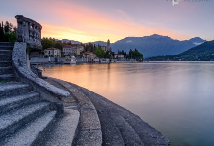 Mark Bauer Photography | First Light, Tremezzo, Lake Como