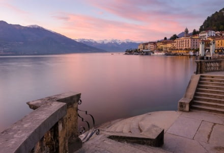 Mark Bauer Photography | Sunset, Bellagio, Lake Como