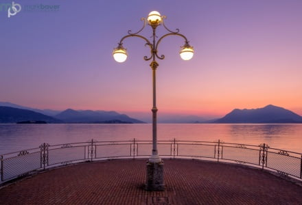 Mark Bauer Photography | First Light, Stresa, Lake Maggiore