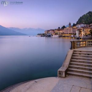 Mark Bauer Photography | Dusk, Bellagio, Lake Como