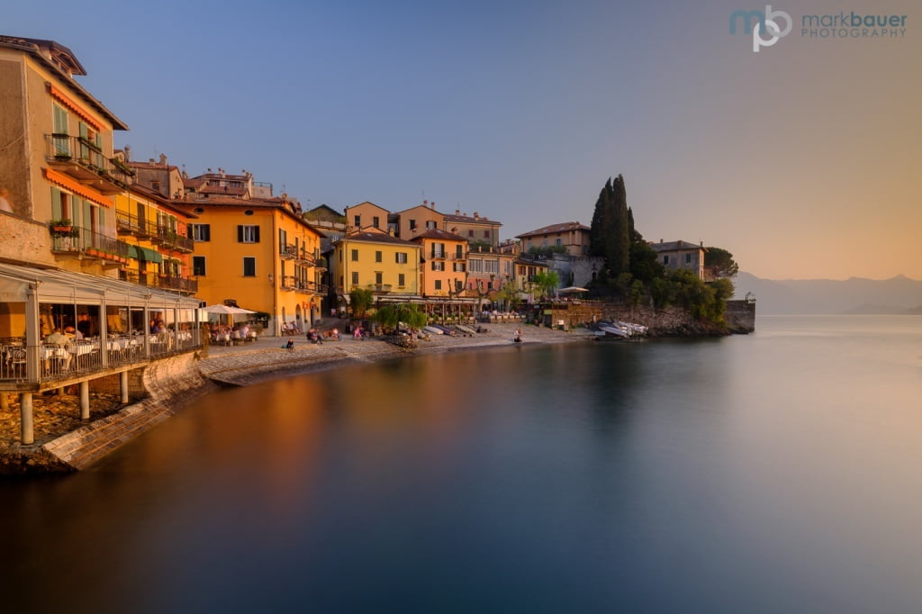Mark Bauer Photography | Evening light, Varenna, Lake Como