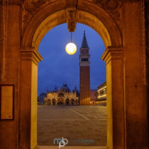 Mark Bauer Photography | Blue Hour, Piazza San Marco, Venice