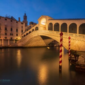 Mark Bauer Photography | Morning Twilight, Ponte di Rialto, Venice