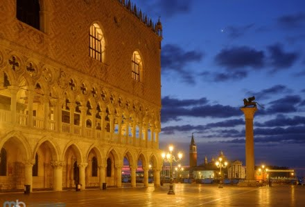 Mark Bauer Photography | Blue Hour, Doge's Palace, Venice