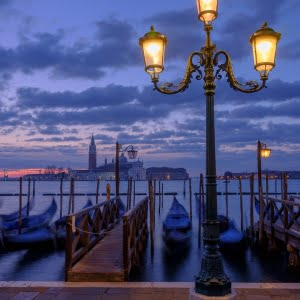 Mark Bauer Photography | Towards San Giorgio Maggiore, Venice, at dawn