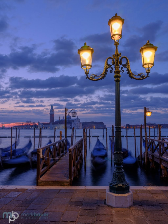 Mark Bauer Photography | Towards San Giorgio Maggiore, Venice, at dawn