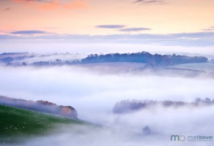Mark Bauer Photography | Autumn mist, Hod Hill