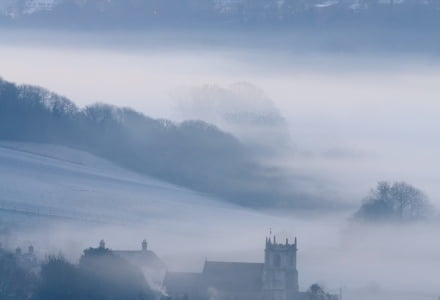 Mark Bauer Photography | Misty morning, Stourpaine