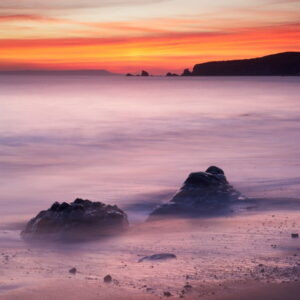 Mark Bauer Photography | Winter afterglow, Worbarrow Bay