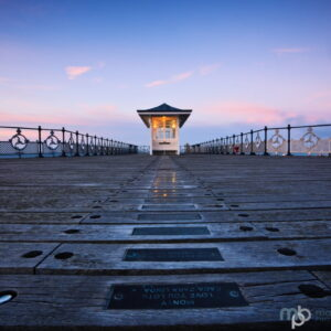 Mark Bauer Photography | Fading Light, Swanage Pier