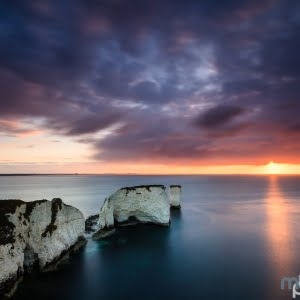 Mark Bauer Photography | Clearing storm, Old Harry Rocks