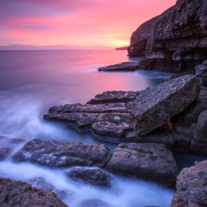 Mark Bauer Photography | Dusk, Dancing Ledge