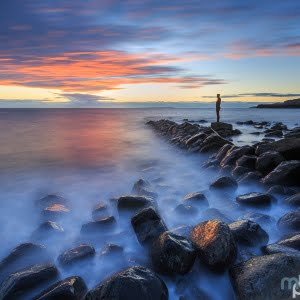 Mark Bauer Photography | Last man standing, Kimmeridge Bay