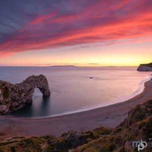 Mark Bauer Photography | Early autumn sunset, Durdle Door