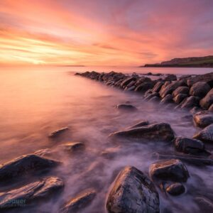 Mark Bauer Photography | Winter Sunset, Clavell's Pier, Kimmeridge