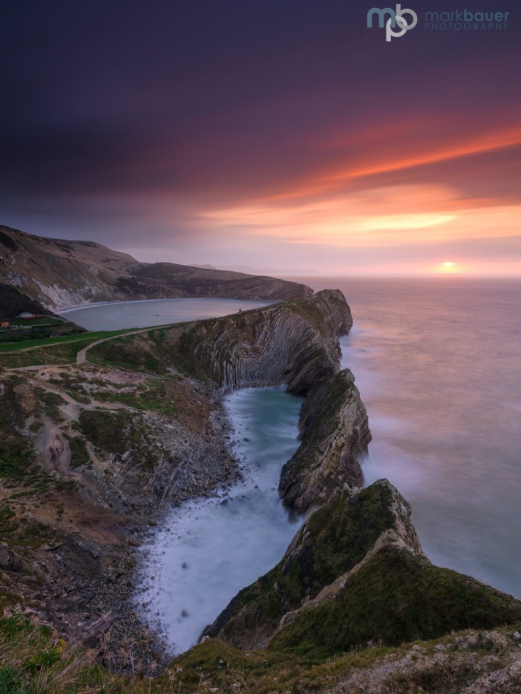Mark Bauer Photography | Sunrise, Stair Hole, Lulworth