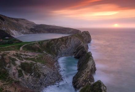 Mark Bauer Photography | Sunrise, Stair Hole, Lulworth