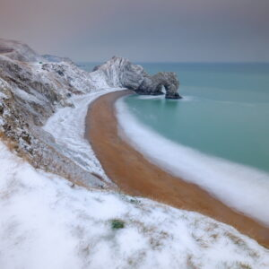Mark Bauer Photography | The Beast from the East, Durdle Door
