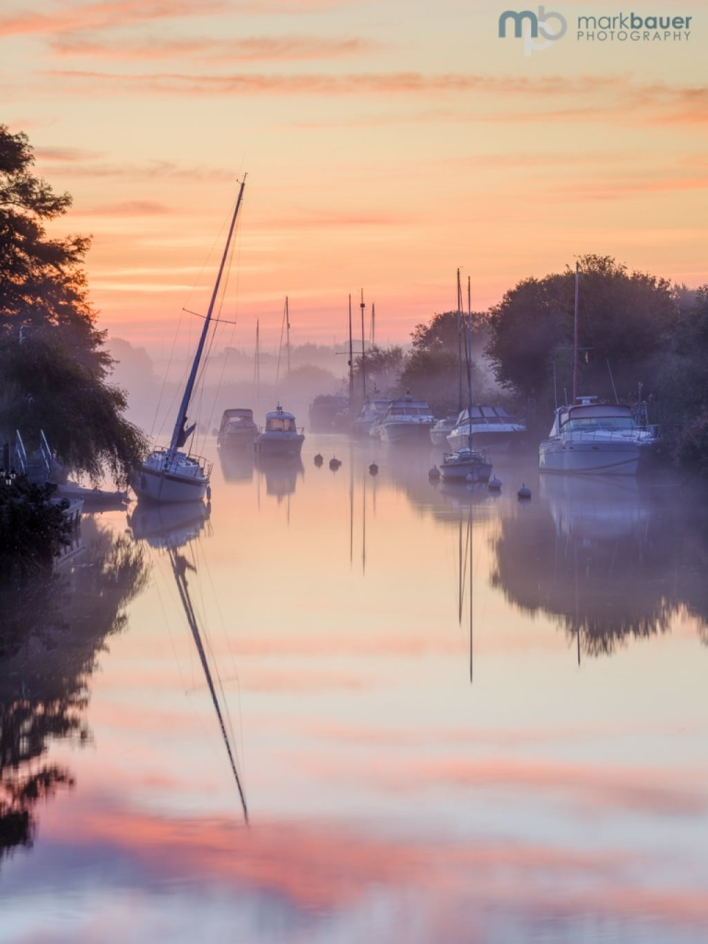 Mark Bauer Photography | Reflections, River Frome, Wareham #2