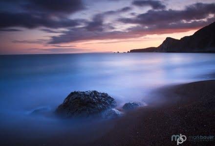 Mark Bauer Photography | Dusk, Worbarrow Bay