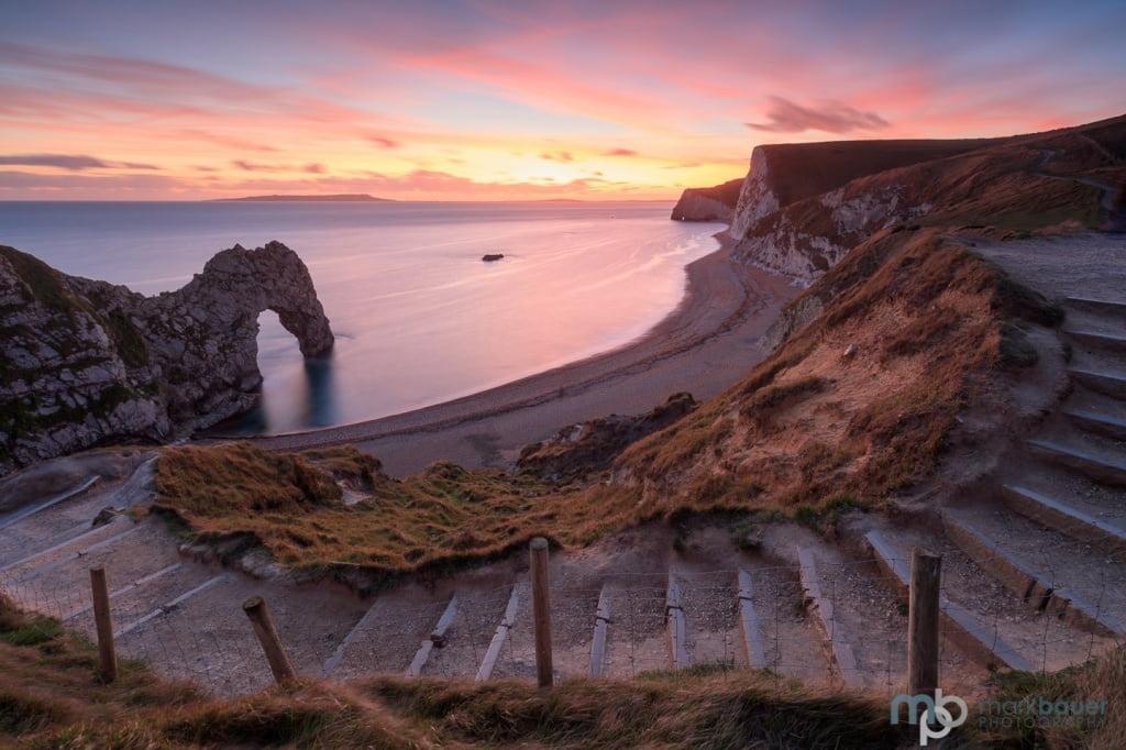Mark Bauer Photography | Ocotber Sunset, Durdle Door
