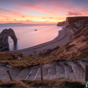 Mark Bauer Photography | Ocotber Sunset, Durdle Door