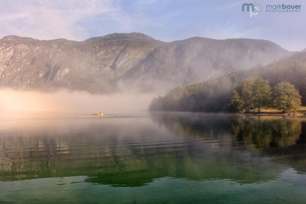 Misty Morning, Lake Bohinj