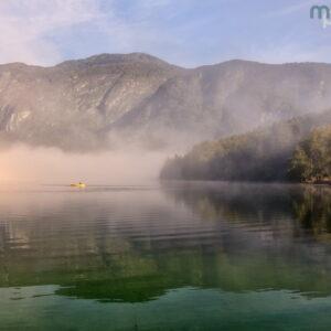 Mark Bauer Photography | Misty Morning, Lake Bohinj