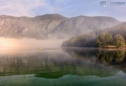 Misty Morning, Lake Bohinj