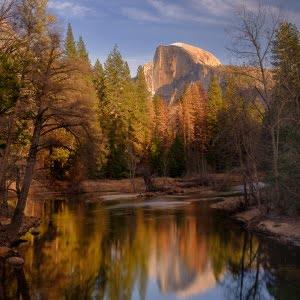 Mark Bauer Photography | Winter Light, Half Dome, Yosemite