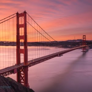 Mark Bauer Photography | Sunrise, Golden Gate Bridge, San Francisco