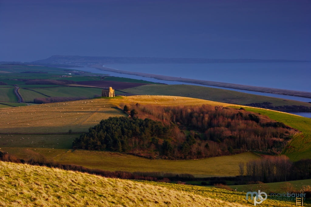Mark Bauer Photography | Evening light, St Catherine's Chapel, Abbotsbury