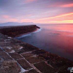 Mark Bauer Photography | Winter sunrise, The Cobb, Lyme Regis