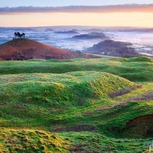 Mark Bauer Photography   Winter sunrise, Colmer's Hill
