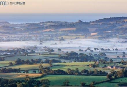 Mark Bauer Photography | Misty morning, Marshwood Vale
